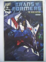 Transformers The War Within Preview RARE